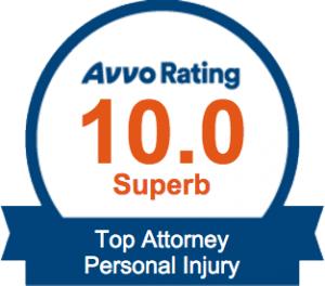 AVVO Top Attorney Personal Injury